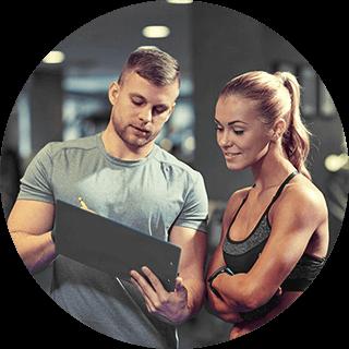 Upfit Partner werden Ernährungsplan Trainingsplan