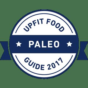 Upfit Retaurant Guide - Paleo Best Of Badge