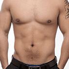 Mittlerer/normaler Körperfettanteil bei Männern