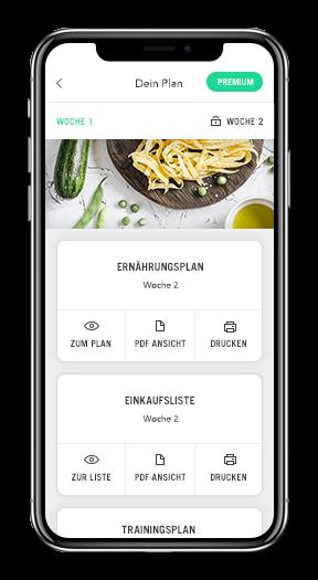 Upfit Ernährungsplan Ernährungspläne Mobile