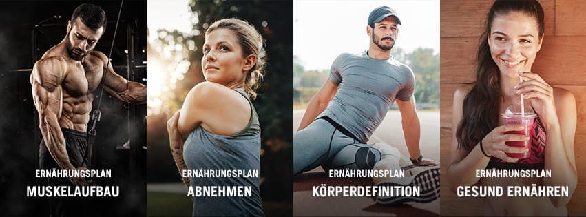Gesunder Ernährungsplan zum Abnehmen/Muskelaufbau: Personalisierten ...