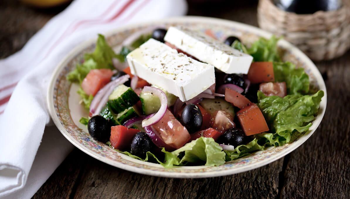 Upfit Griechischer Salat Rezepte