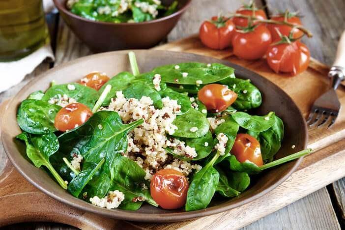 Upfit Quinoa-Tomaten-Pfanne Rezept