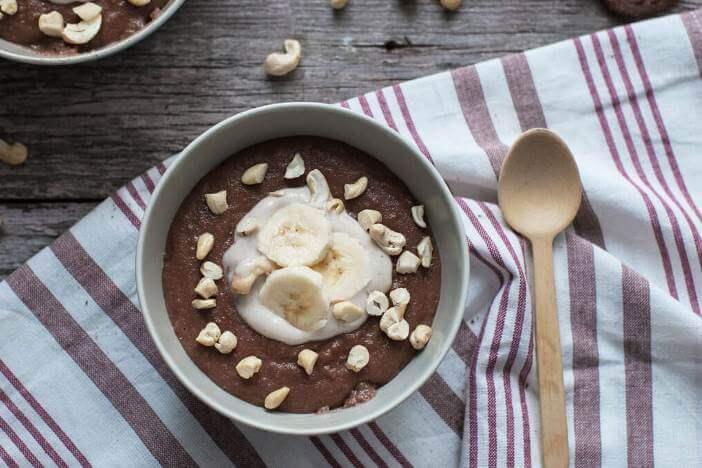 Upfit Schoko-Porridge Rezept