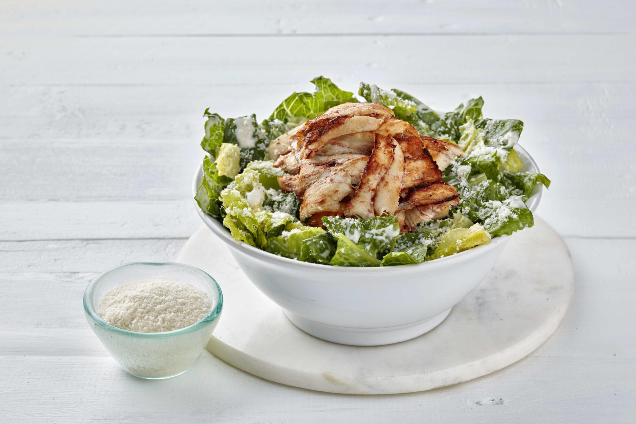 Upfit gesunder Caesar Salad