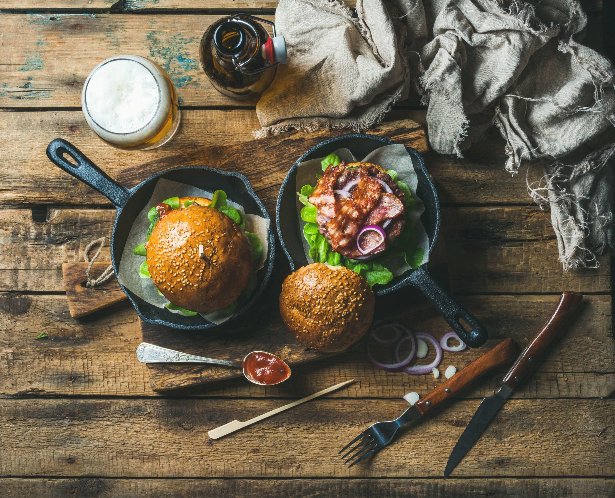 Upfit Tatar Delight Burger