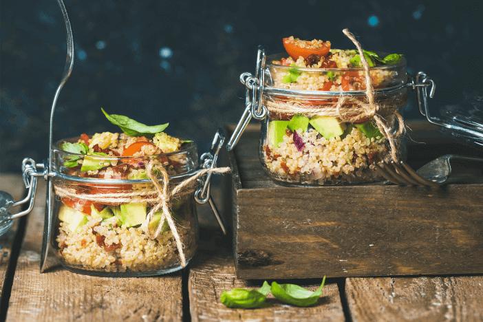 Rührei Tofu vegan abnehmen