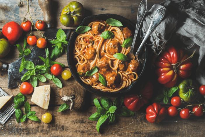 pasta-vegetables-unhealthy-foods