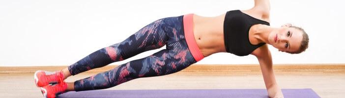 Sixpack Seitstütz Bauchmuskeln Training
