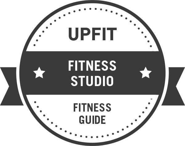 Upfit Fitnessstudio Badge