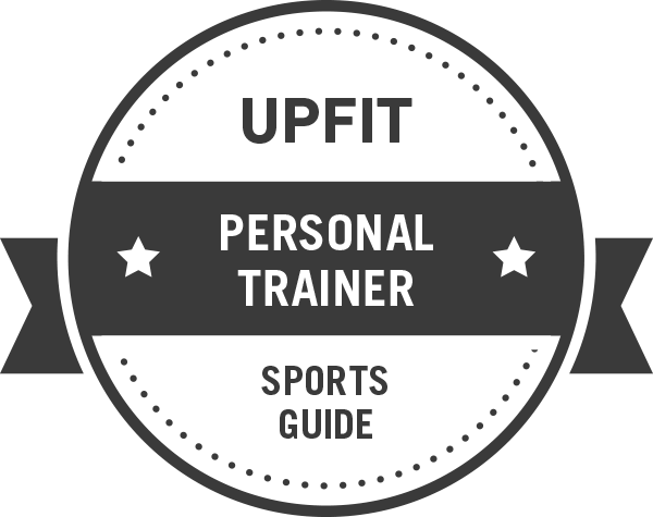 Upfit Personal Trainer Badge