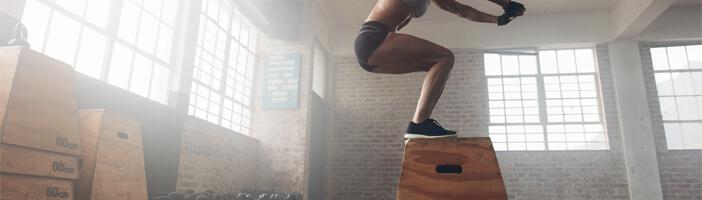 Box Jump Training Übungen Sport