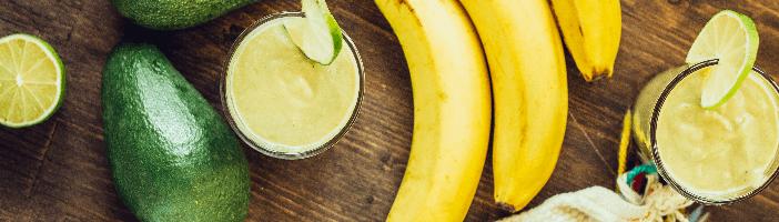 avocado, bananas and other paleo foods