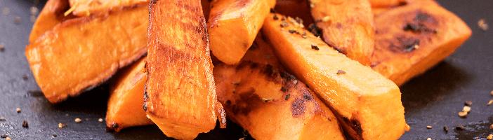 paleo super food - roasted sweet potatoe
