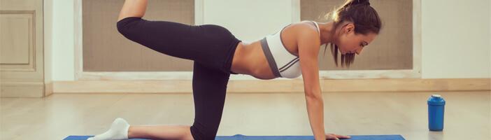 Po Übungen Training Sport Abnehmen