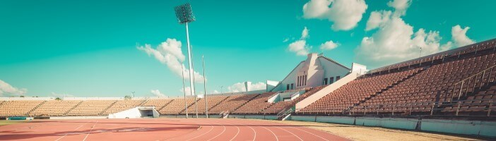 Running track in a stadium - Reaching your goal