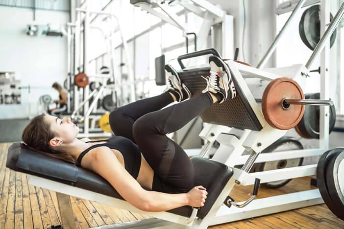 beinpresse leg press übung training