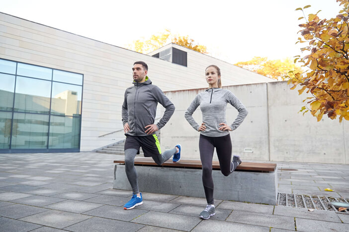 lunges ausfallschritte training übungen