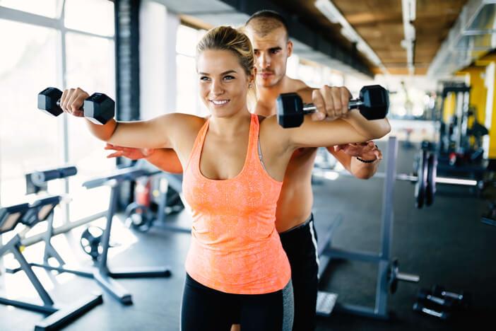 seitheben schulter training übung