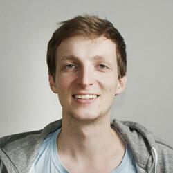Florian im Team Upfit Business Analyst