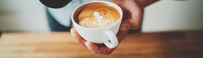 Cafe dient zum Abnehmen