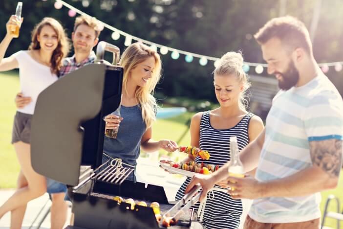 upfit grillen gesund schlank sommer