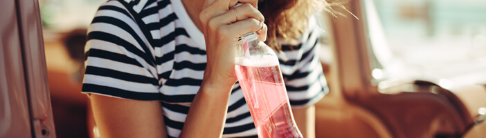 woman-drinking-water-bottle-sugar-alternatives