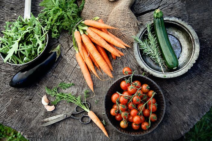 Upfit-Gemüse-Rohkost