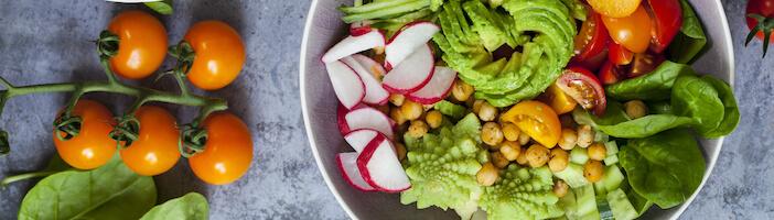 Upfit-Gemüse-Schüssel-Bowl