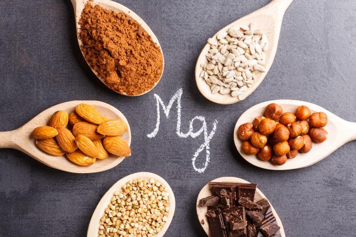 Magnesium Löffel Lebensmittel