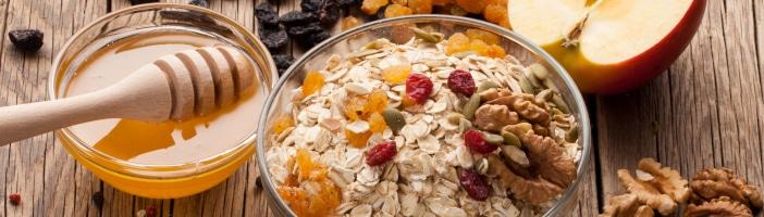 Bestandteile des Porridge