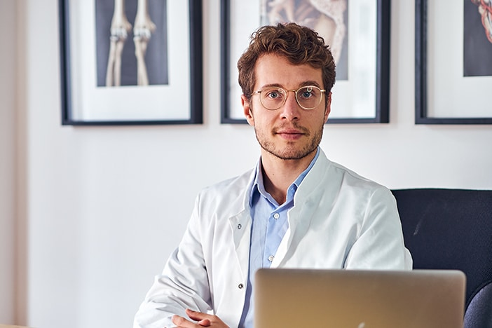 Upfit Podcast Gast Dr. med. Dominik Dotzauer